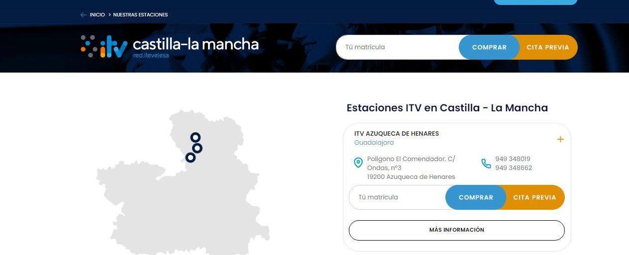 Cita previa ITV en Castilla – La Mancha
