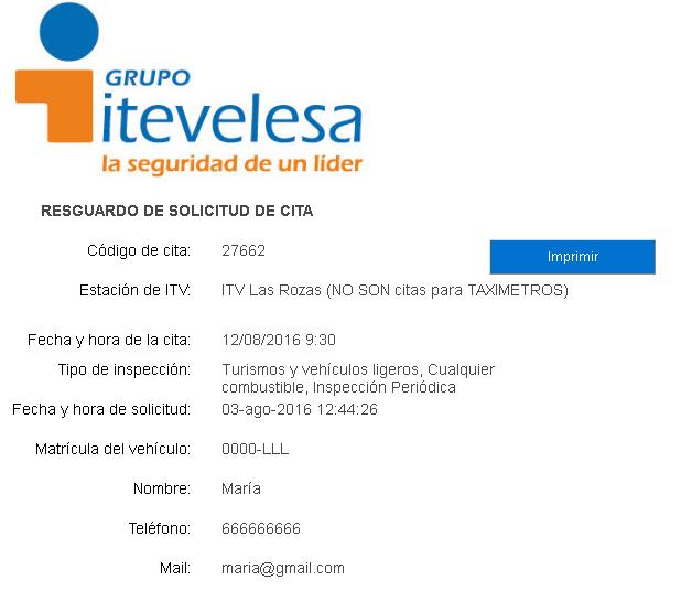 Cita previa ITV en Murcia