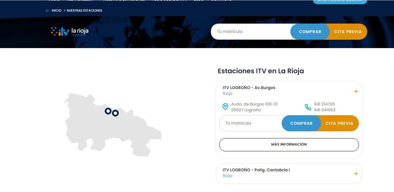 Cita previa ITV en La Rioja