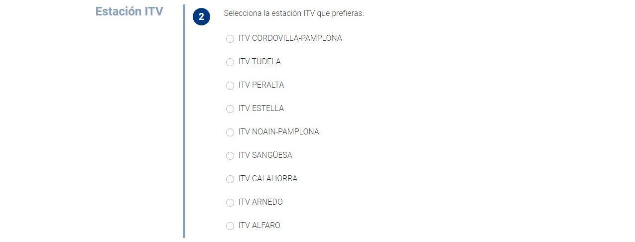 Cita previa ITV en Navarra