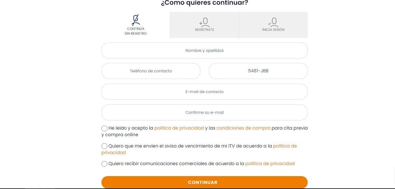 Cita previa ITV en Cantabria